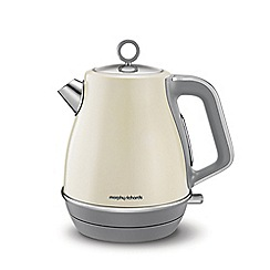 Morphy Richards - Cream 'Evoke' 1.5L jug kettle 104407