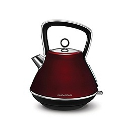 Morphy Richards - Red 'Evoke' 1.5L pyramid kettle 100108