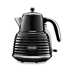 DeLonghi - Black 'Scultura' kettle KBZ3001.BK