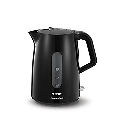 Morphy Richards - Black 'Accents' BRITA filter jug kettle 120009