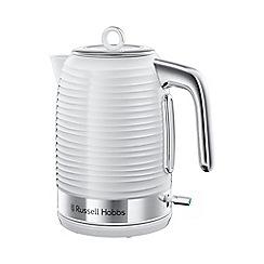 Russell Hobbs - White 'Inspire' kettle 24360