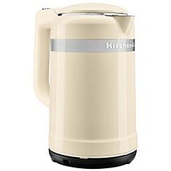 KitchenAid - Cream 'Design' kettle 5KEK1565BAC