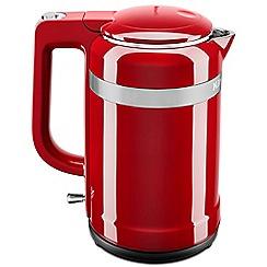 KitchenAid - Red 'Design' kettle 5KEK1565BER