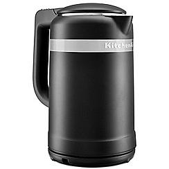KitchenAid - Black 'Design' kettle 5KEK1565BBM