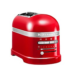 KitchenAid - Red 'Artisan' 2 slice toaster 5KMT2204BER