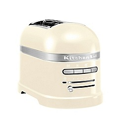 KitchenAid - Cream 'Artisan' 2 slice toaster 5KMT2204BAC