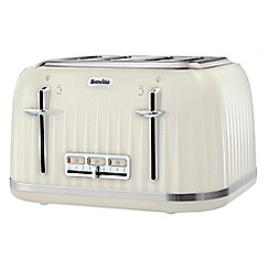Breville - Cream 'Impression' 4 slice toaster VTT702