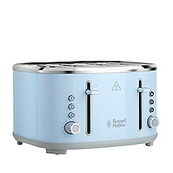 Russell Hobbs - Blue 'Bubble' 4 Slice Toaster 24413