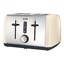 Breville - Cream Colour Collection 4 Slice Toaster VTT760