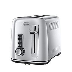 Breville - Stainless steel 2 slice toaster in silver VTT570
