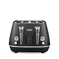 DeLonghi - Black 'Distinta' toaster CTI 4003.BK