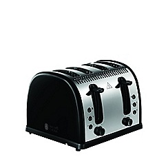 Russell Hobbs - Black 'Legacy' 4 slice toaster 21303