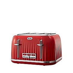 Breville - Red 'Impression' 4 slice toaster VTT783