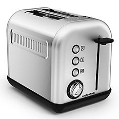 Morphy Richards - Brushed steel 'Accents' 2 slice toaster 222006