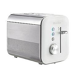 Breville - White 'Gloss' 2 slice toaster VTT686