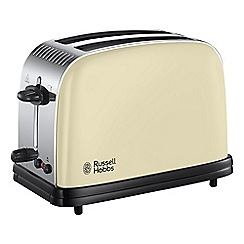 Russell Hobbs - Cream 'Colour Plus' 2 slice toaster 23334