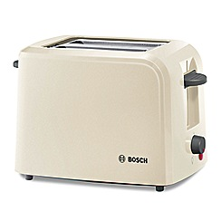 Bosch - Cream 'Village' 2 slice toaster TAT3A0175GB