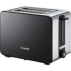 Bosch - Black 'Sky' 2 slice toaster TAT7203GB