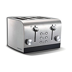 Morphy Richards - Stainless steel 'Equip' 4 slice toaster 241001