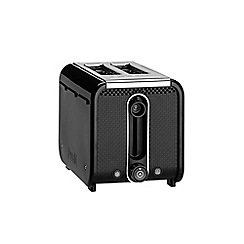 Dualit - Black 'Studio' 2 slice toaster 26410