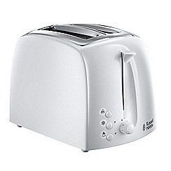 Russell Hobbs - White 'Textures' toaster 21640