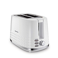 Morphy Richards - White 2 slice toaster 220023