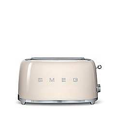 Smeg - Cream 4 slice toaster TSF02CRUK