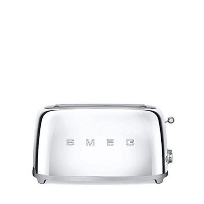 Smeg   Stainless Steel 4 Slice Toaster Tsf02 Ssuk by Smeg