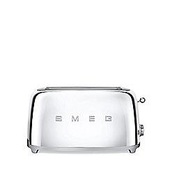 Smeg - Stainless steel 4 slice toaster TSF02SSUK