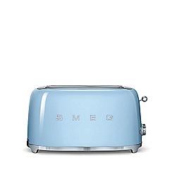 Smeg - Blue 4 slice toaster TSF02PBUK