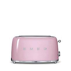 Smeg - Pink 4 slice toaster TSF02PKUK