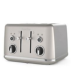 Breville - Cream Shimmer 'Lustra' 4 slice toaster VTT851