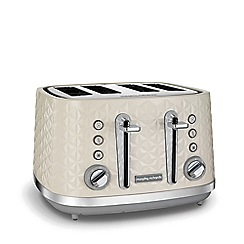 Morphy Richards - Cream 'Vector' 4 slice toaster 248132