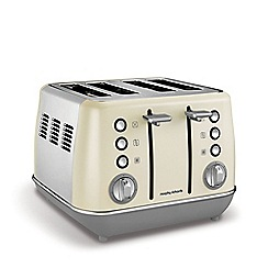 Morphy Richards - Cream 'Evoke' 4 slice toaster 240107