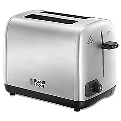 Russell Hobbs - Stainless steel 'Adventure' 2 slice toaster 24080