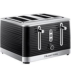 Russell Hobbs - Black 'Inspire' 4 slice toaster 24381