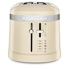 KitchenAid - Cream 'Design' 4 slice toaster 5KMT5115BAC