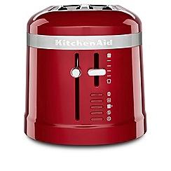KitchenAid - Red 'Design' 4 slice toaster 5KMT5115BER