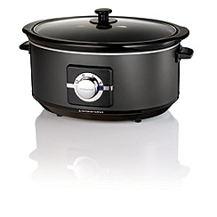 Morphy Richards - Debenhams exclusive - Titanium 6.5L slow cooker