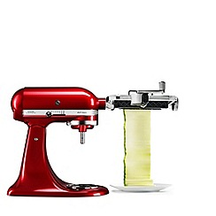 KitchenAid - Empire red 'Artisan' stand mixer 5KSM125BVER and veggie set