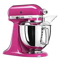 KitchenAid - Pink 'Artisan' food mixer 5KSM175PSBCB