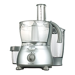 Kenwood - Satin chrome 'Multi-Pro' food processor FP586