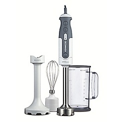 Kenwood - White and grey 'Triblade System™' hand blender HDP304WH/0W2211407