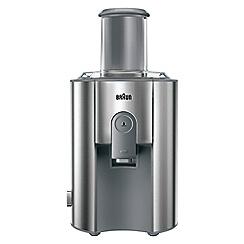 Braun - Stainless steel spin juicer J700