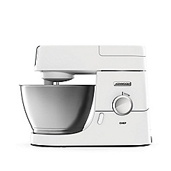 Kenwood - White 'Chef' food mixer KVC3100W