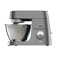 Kenwood - Silver 'Chef Titanium' food mixer KVC7303S