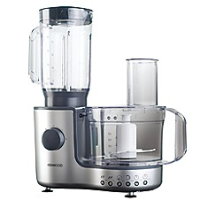 Kenwood - Silver food processor with blender FP195