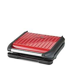 George Foreman - Red 'George Foreman' 7 Portion Family Health Grill 25050