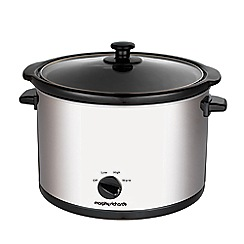 Morphy Richards - Stainless Steel 5.5L Slow Cooker 461006