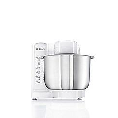 Bosch - White 600W kitchen machine MUM4807GB